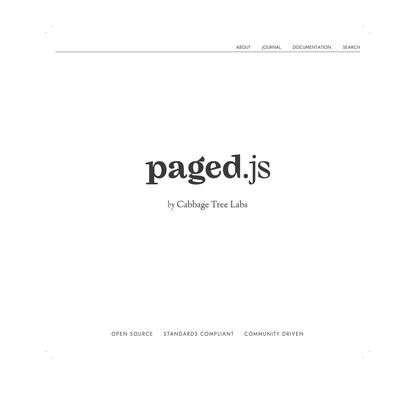 Paged.js - Paged.js