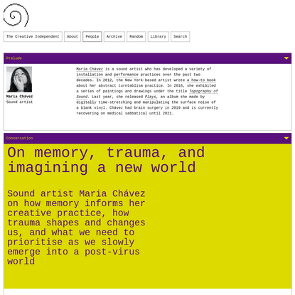 On memory, trauma, and imagining a new world