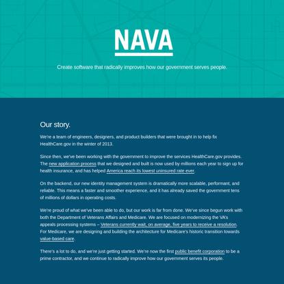 Nava, a Public Benefit Corporation