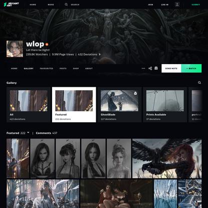 wlop - Hobbyist, Digital Artist | DeviantArt