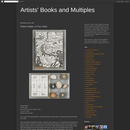 Robert Watts | A Flux Atlas