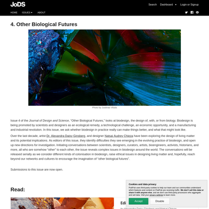 4. Other Biological Futures · Journal of Design and Science