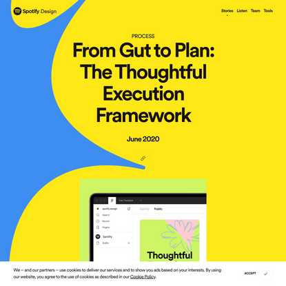 From Gut to Plan: The Thoughtful Execution Framework