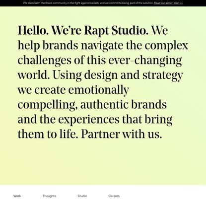 Rapt Studio