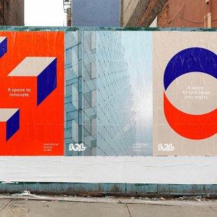 International Quarter London by @campbellhaybranding . . . . . . . . #branding #identity #logo #graphicdesign #design #minim...