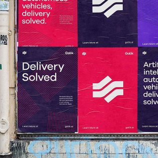 A preview of our work for Gatik, a bay-area company developing vehicles that tackle short hauls of goods between businesses;...