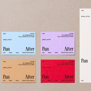 @pan_after by @nevernow_ on Visual Journal - #branding #identity #logo #graphicdesign #design #minimalism #mark #logotype #v...
