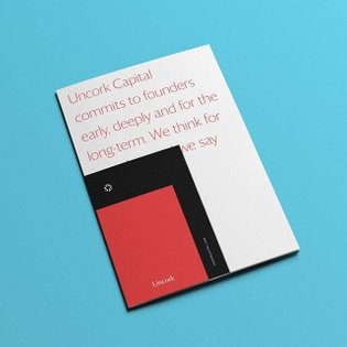 Part of our rebrand for Uncork Capital - we launched the full project on the site earlier this month.