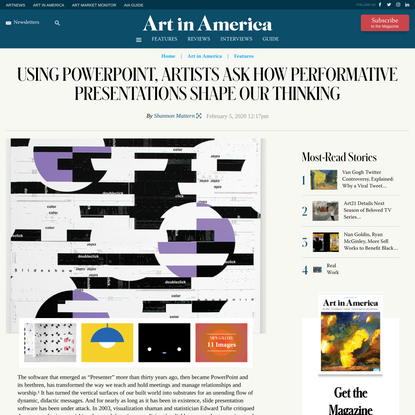 Using PowerPoint, Artists Ask How Performative Presentations Shape Our Thinking