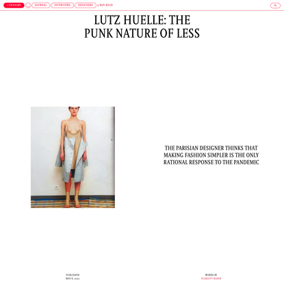 Lutz Huelle: The punk nature of less - 1 Granary