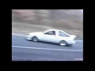 Oldchool 90's street drifting - compilation