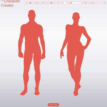 The Character Creator