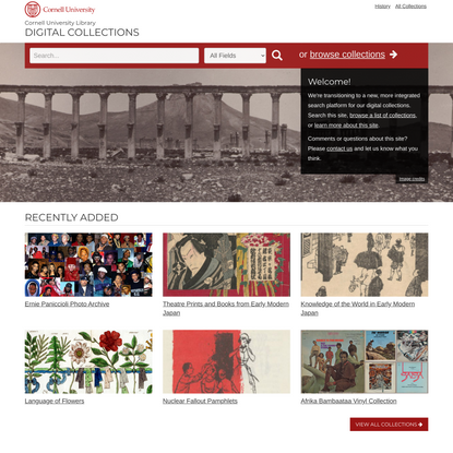 Cornell University Library Digital Collections