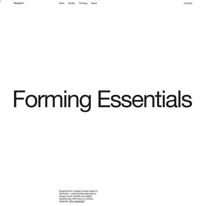 Norgram — Design Studio