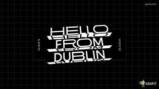 Hello from Dublin!!