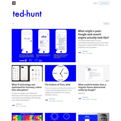 ted-hunt – Medium