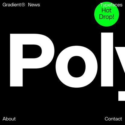 Gradient® A Type Design Agency
