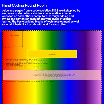 hand-coding-round-robin