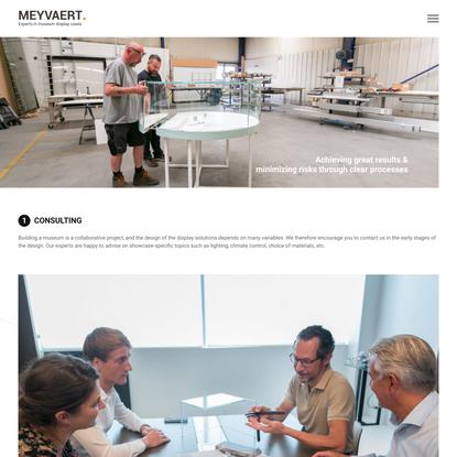 Meyvaert Museum - Our approach