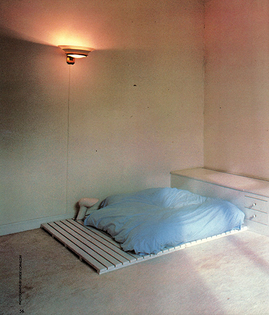 Thierry Mugler's Bedroom, 1982