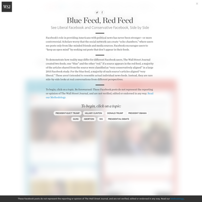 Blue Feed, Red Feed