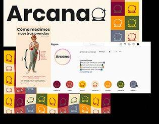 Rebranding + Ecommerce para Arcana