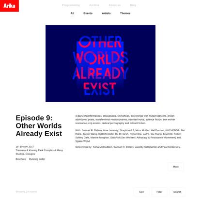 Episode 9: Other Worlds Already Exist | Arika
