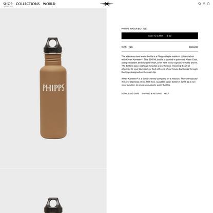 Phipps Water Bottle