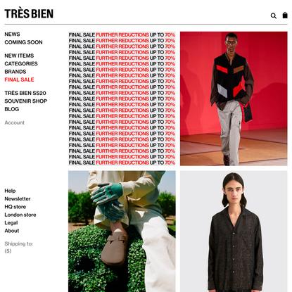 Très Bien - The official website and e-store