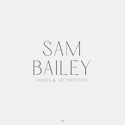 2020 Portfolio – Duplicate – Sam Bailey