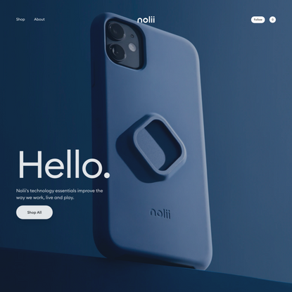 Modular iPhone Cases and Accessories | Patented Click Lock | Nolii