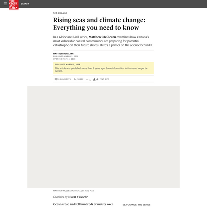 Rising seas and climate change: Everything you need to know