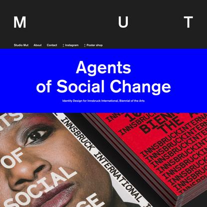 Studio Mut — Branding and Graphic Design, Bolzano Bozen, Italy