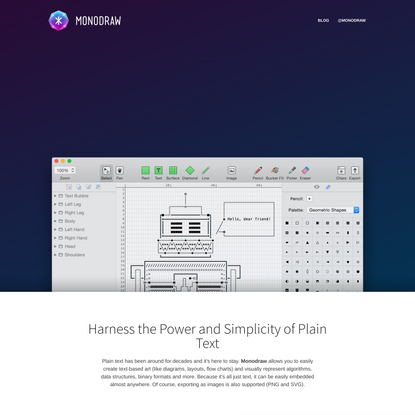 Monodraw for macOS — Helftone