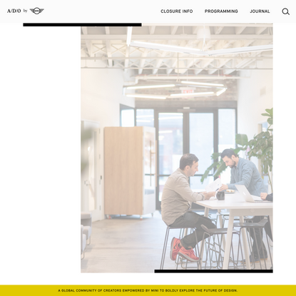 A/D/O by MINI | The Workspace