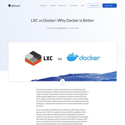 LXC vs Docker: Why Docker is Better