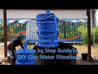 Abundant Water's Step by Step Guide to DIY Clay Water Filters (Full How to Video)