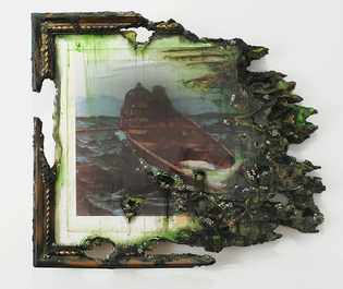Valerie Hegarty, American visual artist for whom art comes before all things through destruction.