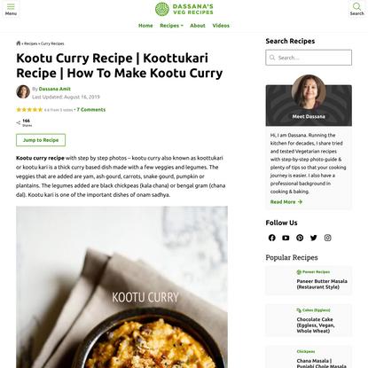 kootu curry recipe   koottukari recipe   how to make kootu curry recipe