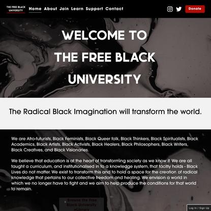 Free Black University