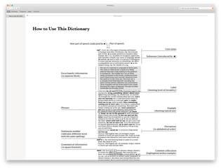 Dictionary mac app