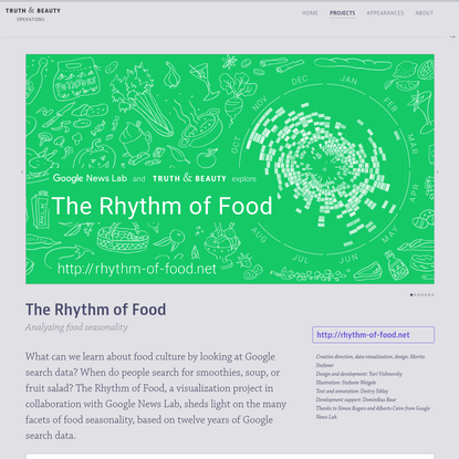 Truth & Beauty - The Rhythm of Food