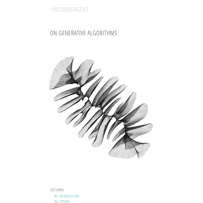 On Generative Algorithms: Introduction · inconvergent