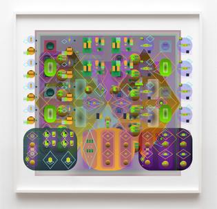 Crystallophobia, 2020 — 100×95cm — UltraChrome HD print on German Etching paper
