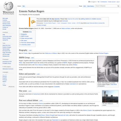 Ernesto Nathan Rogers - Wikipedia