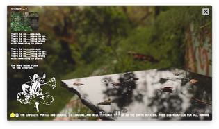 Landa Conservatory | Dusk Downpour Rain Dance (Visual Meditation)