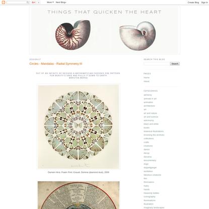 Circles - Mandalas - Radial Symmetry III
