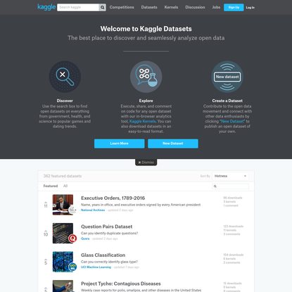 Datasets | Kaggle