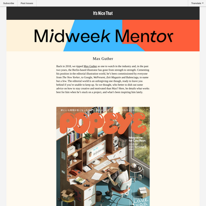 Midweek Mentor: Max Guther on why a deadline is a deadline