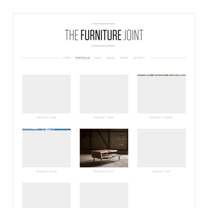 Portfolio — The Furniture Joint